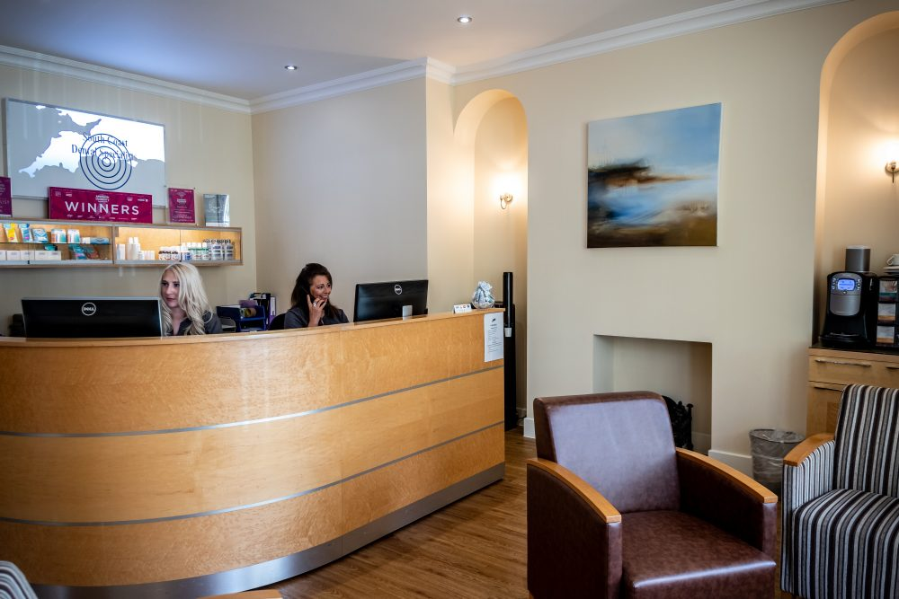 South Coast Dorchester reception